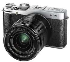 [amazon.co.uk] Fujifilm X-M1 16 MP Systemkamera, inkl. XC 16-50mm Objektiv + £ 100 Amazon.co.uk Guthaben - effektiv 425 €