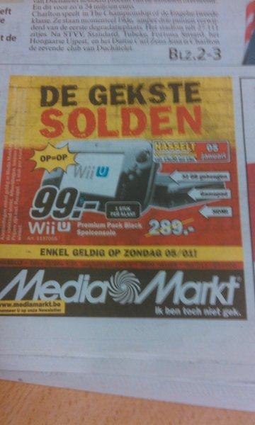 [Belgien] Wii U Premium (inkl. Nintendoland) für 99 Euro
