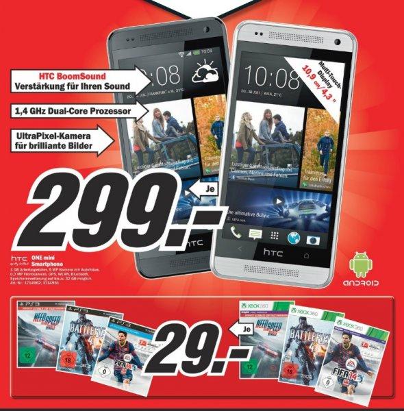 Fifa 14,Need For Speed Rivals,Battlefield 4 für PS3 & Xbox360 29€ - HTC One mini 299€ Lokal [Mediamarkt Hamburg]