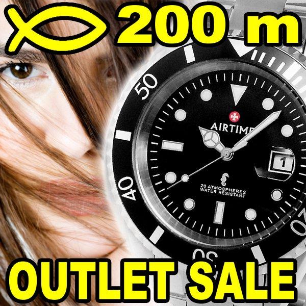 AIRTIME® Uhren Outlet-Sale bei Ebay - Taucheruhren bis 75% günstiger
