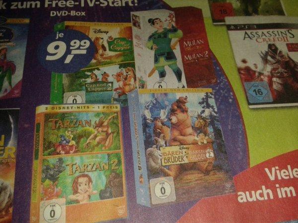 Diverse Disney DVD-Boxen für 9,99 €@real