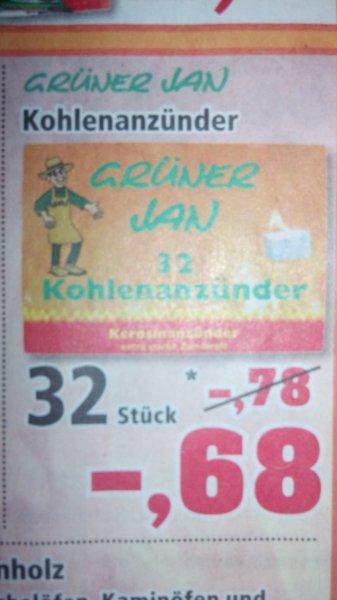 Grüner Jan Kohlenanzünder 32er weiß (Kerosinanzünder) @Thomas Philipps (offline) vom 06.01.-11.01.