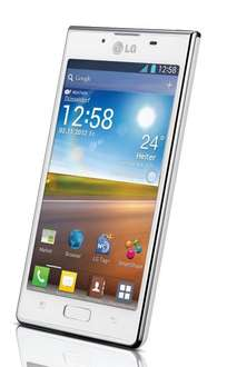 "LG™ - Smartphone ""P700 Optimus L7"" (4.3"" IPS,Android 4.1,5MP AF/LED Cam,4GB,NFC) für €129,99 [@MeinPaket.de]"