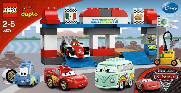 "Lego™ - ""Duplo: Cars Großer Boxenstopp"" (5829) ab €22,50 [@Real.de]"