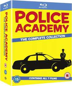 [Amazon.uk] Police Academy 1-7 - The Complete Collection [Blu-ray] inkl.Vsk für ca. 30 €