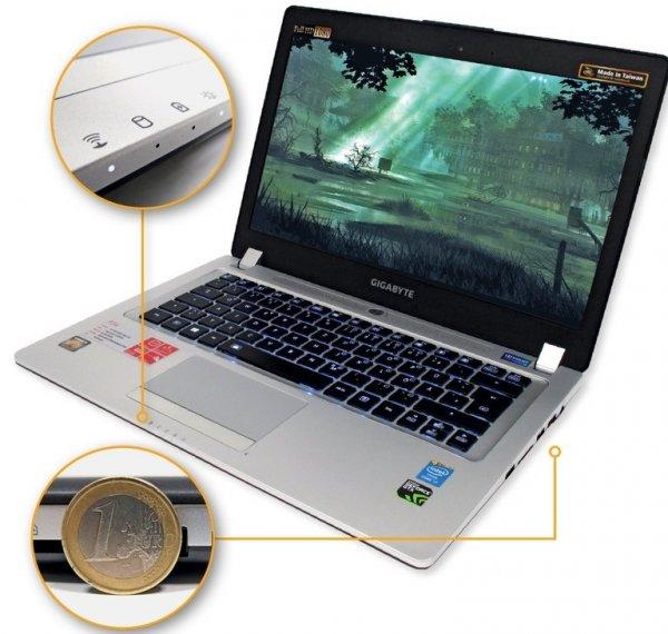Gigabyte P34G Gaming-Notebook mit i7, 8gb Ram, FullHD für 999€ @ ZackZack