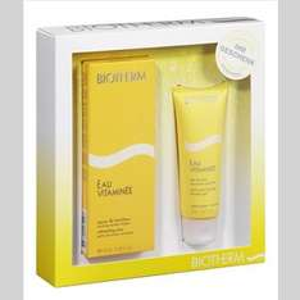 Douglas: Biotherm Eau Vitaminée Set (EDT 100 ml + DG 75 ml) + Gesichtsmake + 2 Proben für 25,48