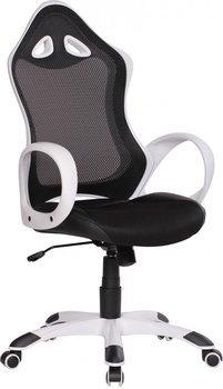 Amstyle RIO Racing Bürostuhl weiß/schwarz
