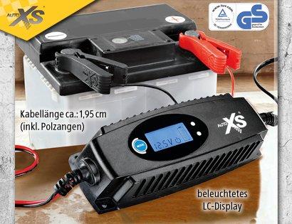 Aldi-Süd KFZ-Batterieladegerät mit Display  (17,99 €) Lokal im abverkauf für 12EURO