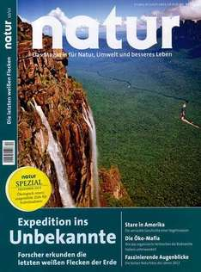 """Zeitschrift """"Natur"""" effektiv 10,20€"""