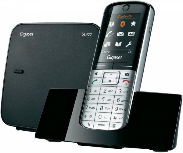 Gigaset SL400 schwarz // Schnurlos-Telefon, analog // @digitalo