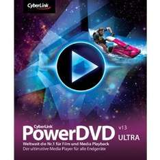 CyberLink: PowerDVD 13 Ultra + Remote + Mobile + Power2Go 9 Deluxe