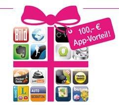 Telekom App Vorteil im Wert von über 100,- € für [Android-IOS]