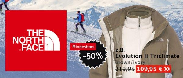 The North Face Sale bei Globetrotter.de min. 50 %