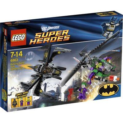 LEGO Super Heroes Batwings Kampf für 20€ und Auseinandersetzung in der Luft für 39€ bei Karstadt