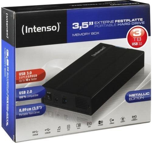 Intenso Memory Box 3TB USB 3.0 für 89,90€ @Ebay