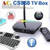 Smart TV Box: CS968 - Multimedia-Server Android Quad-Core A9 mit HDMI/Wifi/Bluetooth