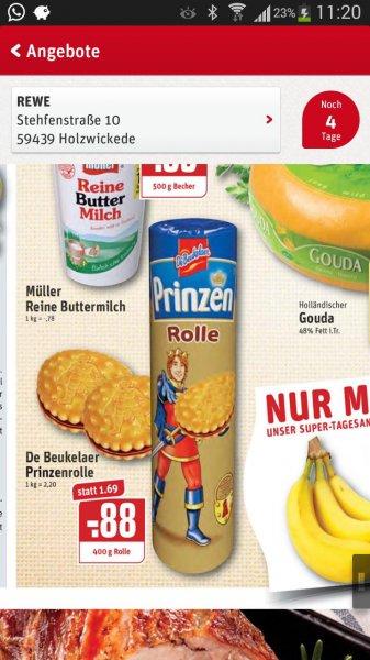 Prinzen Rolle nur 0,88 € im REWE Holzwickede