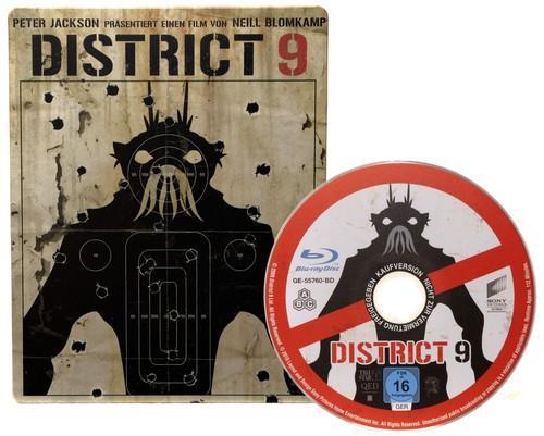District 9 - Limited Steelbook Edition DVD für 4,37 € @ zavvi.com