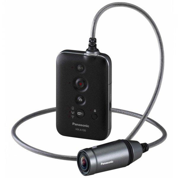 Full HD Action Cam Panasonic - Camera HX A100 Black