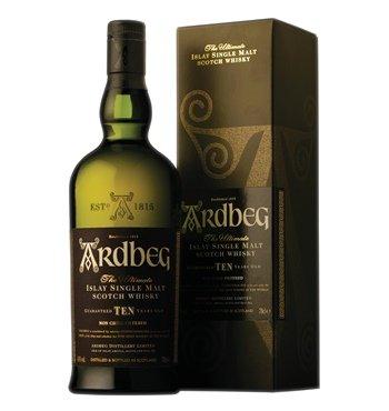 Ardbeg Ten Whisky 10 Jahre 0,7l für 37,99. it 5 Euro Gutschein ab 40Euro für 35,28 möglich