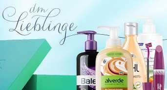 dm Lieblinge (Kosmetikpaket) wieder verfügbar - Anmeldung ab 15. 01. 2014 10.00 Uhr