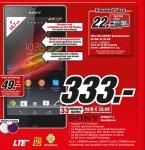 [Media Markt - zieht nach] Sony Xperia Z für 333€