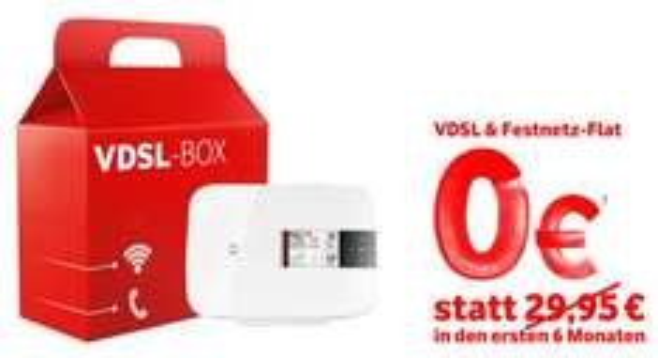 Gratis VDSL-50000 bei Vodafone / Neu- & Bestandskunden