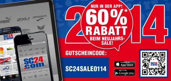 60% Rabatt in der SC24.com-App