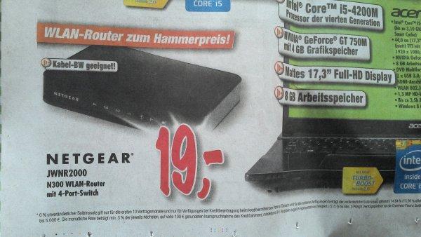 [Lokal/Technoland Esslingen] WLAN Router Netgear JWNR2000 N300