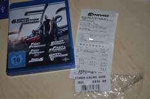 Blu-ray Fast & Furious 1-6 im CONRAD Regensburg für 20€