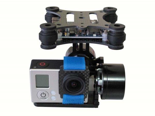 DJI Phantom Brushless Camera Mount Gimbal & Motor & Controller for Gopro 3 FPV
