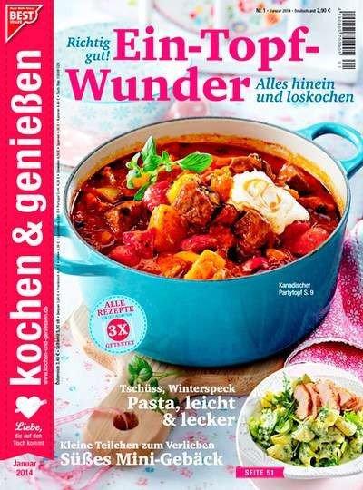Kochen & Genießen für effektiv 9€