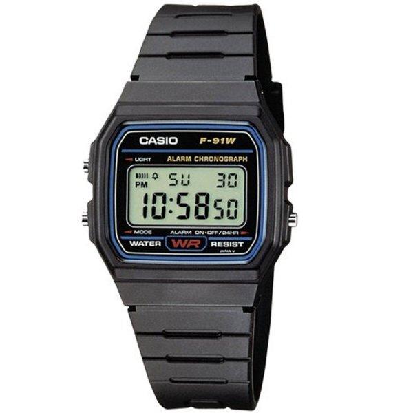 Ebay: Casio Collection Herren-Armbanduhr Digital Quarz F-91W-1YEF für 9,99€