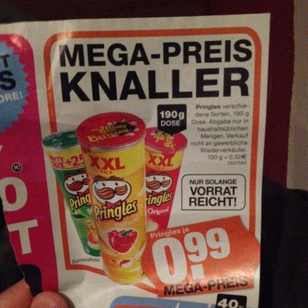 [lokal] Pringles XXL für 0,99€ , München, Mega Store