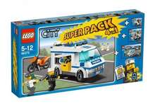 LEGO CITY Polizei Super Pack 66375