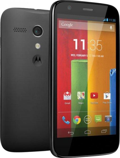 "Motorola™ - Smartphone ""Moto G"" (4.5"" 1280x720,5MP/AF/LED Cam,8GB,Android 4.3) ab €157,41 [@MeinPaket.de]"