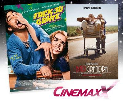5 Cinemaxx Kinogutscheine nur 37,50€
