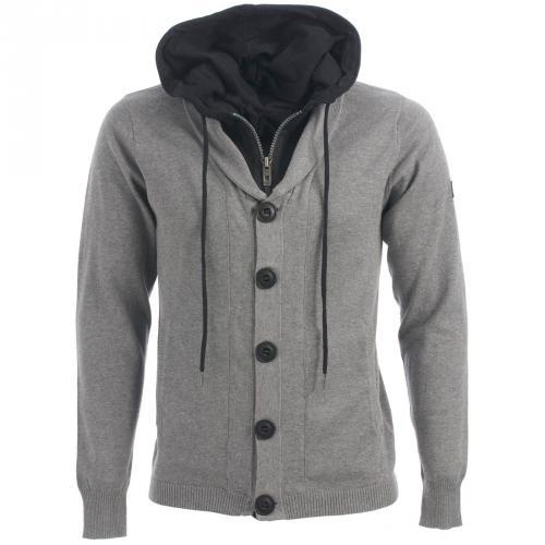 Bench Men's Lock Hooded Knit (Grey) 24,99€