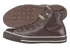 "Converse Lederschuh ""CT AS Hi"" in Braun für 25,90€"