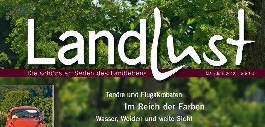 """1 Ausgabe """"Landlust"""" gratis + Geschenk"""