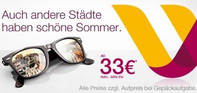 3.000.000 reduzierte Tickets bei Germanwings ab 33 Euro