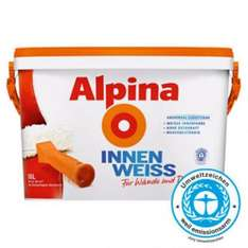 Alpina Innenraum Weiss 10l @ Bauhaus + Tiefpreisgarantie