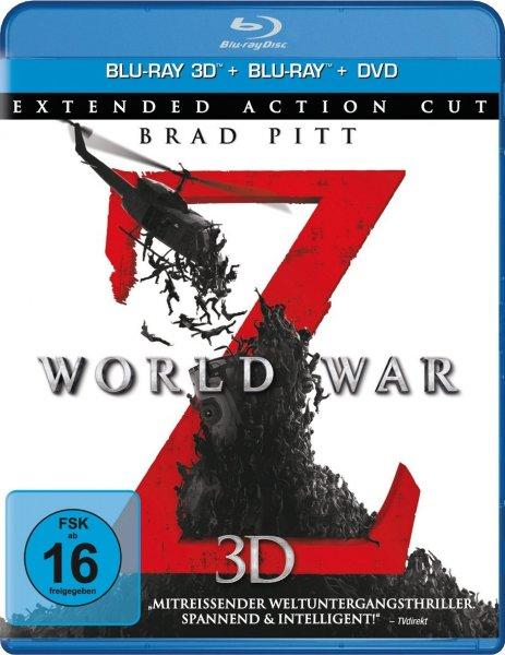 World War Z 3D+Star Trek Into Darkness für jeweils unter 15€ mit Amazon Prime - ansonsten +3€ Versand