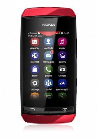 Nokia Asha 306 Red - @handyliga.de - 55,- € zzgl. 5,90 € Versand
