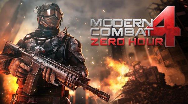 iOS Modern Combat 4 Zero Hour für iPhone, iPad, iPod touch (0€ statt 5,99€)