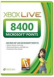 8400 Microsoft Points 65,00€ ebay.de