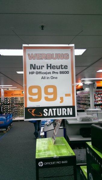 [Lokal]: Saturn Köln HP Officejet Pro 8600 All-in-One nur Heute