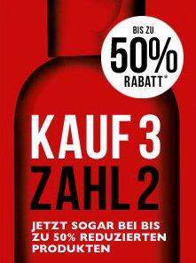 The Body Shop®  3 für 2 Aktion (auch bei um 50% reduzierten Produkten)