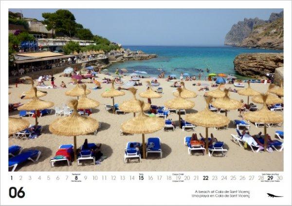 Mallorca 2014 Wall Calendar 2014 DIN A3 von Leguan Verlag - Versand kostenlos